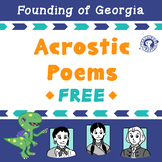 Acrostic Poems: Tomochichi, Mary Musgrove, and James Oglethorpe