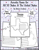 Acrostic Poems for All 50 States & The United States
