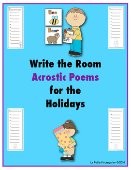 Acrostic Poems for the Holidays