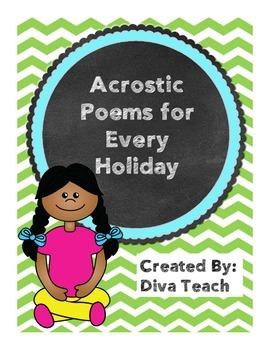 Acrostic Poetry Pack