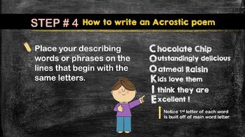 Acrostic Poetry Power Point
