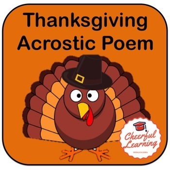 Acrostic Thanksgiving Poem