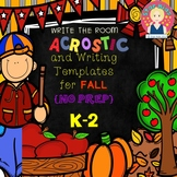 FALL WRITE THE ROOM ACROSTICS for Kindergarten and First Grade