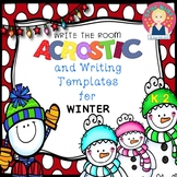 WINTER WRITE THE ROOM for Kindergarten and First Grade