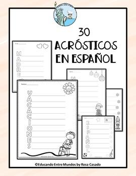 Acrostics Spanish
