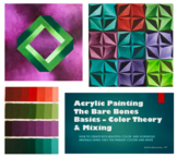 PAINTING - Acrylic Value Scales/Impossible Shape/Vektor Project BUNDLE