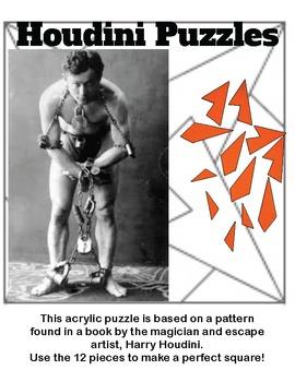 Geometric Puzzle: Acrylic Houdini Tiles
