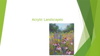 Acrylic Landscape Paintings