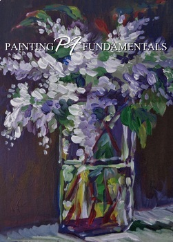 Acrylic Painting - Beginning Floral Lesson Plan - PDF