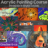 Acrylic Painting Bundle for Grades 9-12