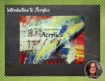 High School Acrylic Painting Course - Full Semester Bundle