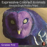 Acrylic Painting - Expressive Color Animals