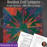 Acrylic Painting - Radial Symmetry Dot Lesson - Color Mixi