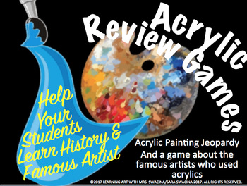 Acrylic Painting Review Games