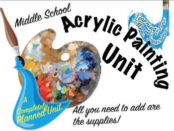 Acrylic Painting Unit Bundle