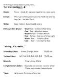 Acrylic Value Scale Notes (Accompanies Acrylic Value Scales)