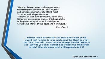 Act II Powerpoint- HAMLET