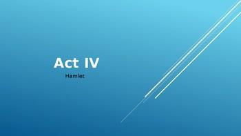 Act IV Hamlet Powerpoint