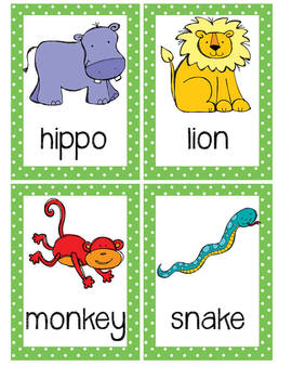 Act It Out!  Animal Action Brain Break Cards