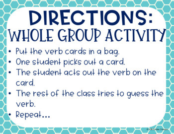 Act It Out - Verbs