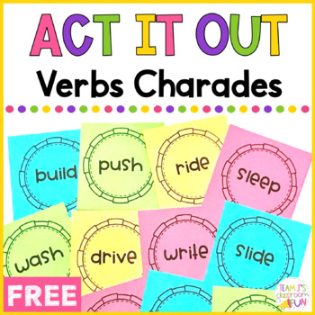 Act It Out Verbs