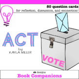 Act by Kayla Miller - Graphic Novel Question Cards for Cla