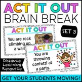Act it Out Brain Break {Set 3}