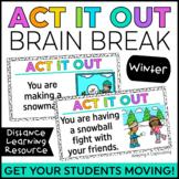 Act it Out Brain Break {Winter}