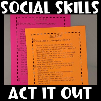 Act it Out! Social Thinking