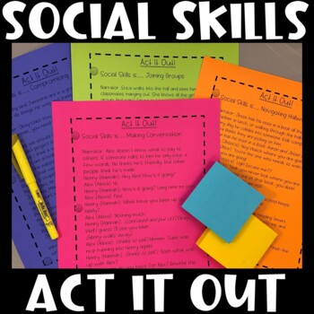 Act it Out! Social Skills