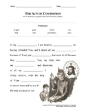 Act of Contrition - fill in the blank
