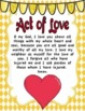 Act of Faith, Act of Hope, and Act of Love Prayer Packs