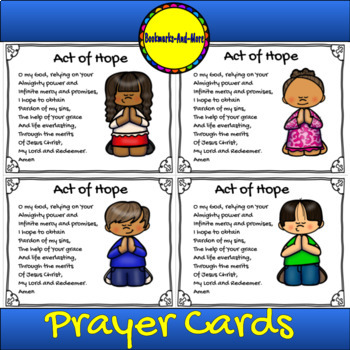 Act of Hope Prayer Card