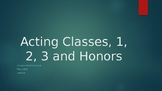 Acting Class Powerpoint