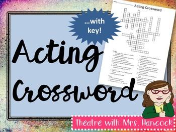 Acting Crossword