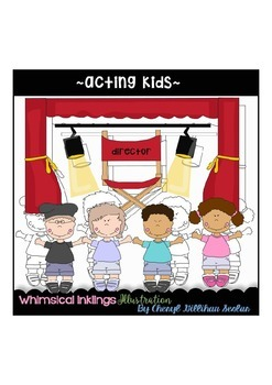 Acting Kids Clipart Collection