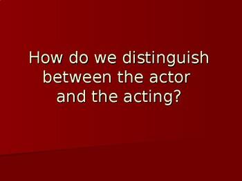 Acting PowerPoint