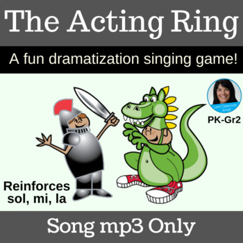"Acting Singing Game | ""The Acting Ring"" by Lisa Gillam 