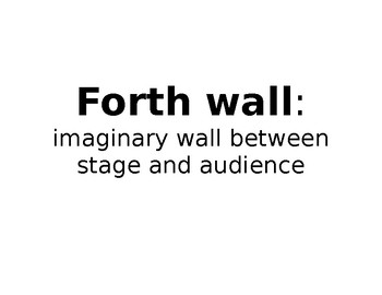 Acting/Theatre Word Wall