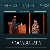 Acting Vocabulary Short Answer Quiz