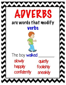 Acting With Adverbs
