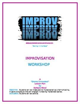 """Acting in the Now""  (Improvisation Workshop)"