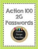 Action 100 2G Power Word Passwords