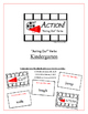 """""""Action!"""" Acting Out Verbs Kindergarten Common Core Game"""