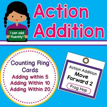 Action Addition - Adding Fluently within 5, 10, and 20