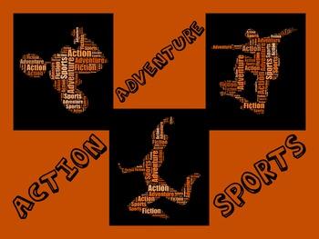 Action Adventure Sports Genre Poster