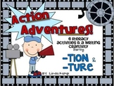 Word Work -tion and -ture Centers & Writing Craft