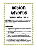 Action Adverbs Game