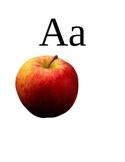 Action Alphabet Flashcard