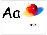 Alphabet Chart - Action Alphabet Wall Chart or Book